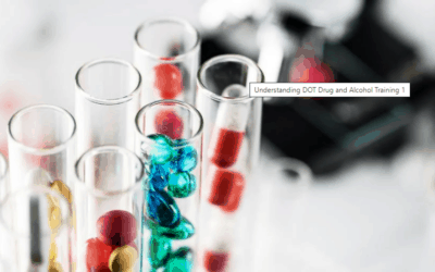 Understanding DOT Drug and Alcohol Training